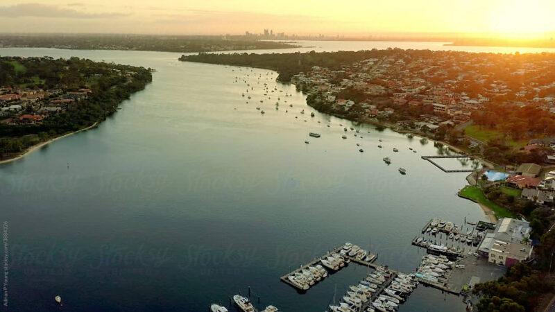 Perth Aerial Footage